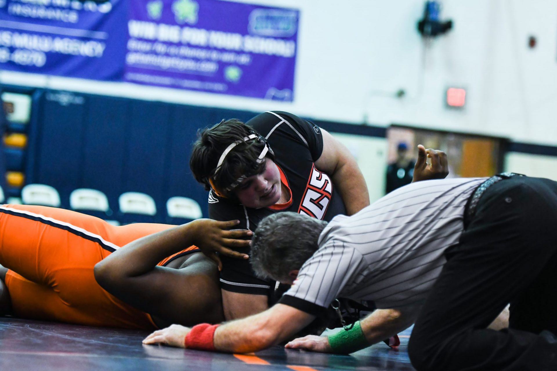 Allatoona Wrestling vs North Cobb Wrestling on January 5, 2019 - Kennesaw, GA (Credit Image: Chrystal Moore)