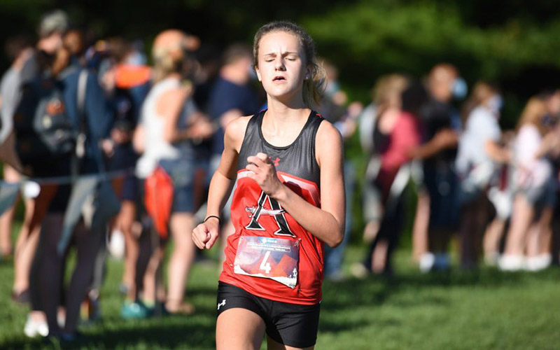 Cross Country's Abby Curtin Named Athlete of the week.