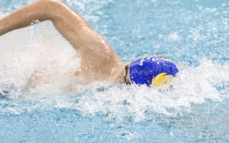 Swim and Dive's Noah Smith Named Athlete of the Week