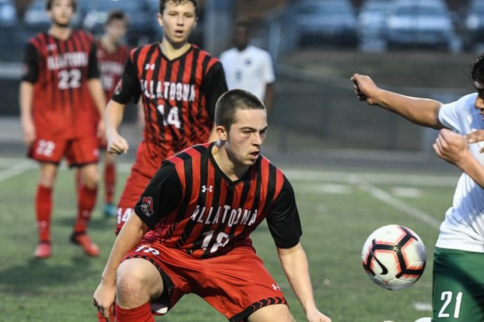 Soccer's Jackson Fountain Named Athlete of the Week