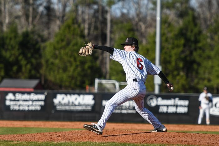 Baseball's Riley Gaskins Named Athlete of the Week