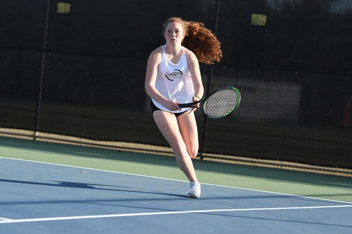 Tennis' Sarah Sanabia named Athlete of the Week (March 25, 2021)