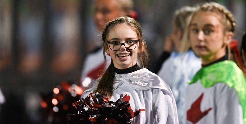Read more about the article CHEER'S CAMPBELL PARR named Athlete of the Week