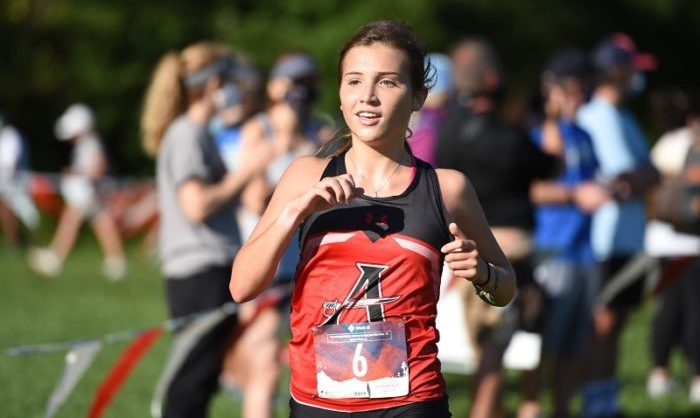 You are currently viewing Cross Country's Emily Heffron named Athlete of the Week